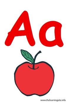 English Alphabet Flashcards