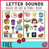 Free!!! Alphabet File Folder Game