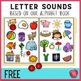 Free!!! Alphabet File Folder Game