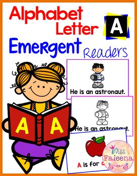 Free Alphabet Letter A Emergent Readers