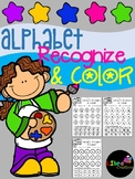 Free Alphabet Recognize & Color