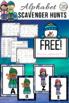 Free Alphabet Scavenger Hunt: Winter