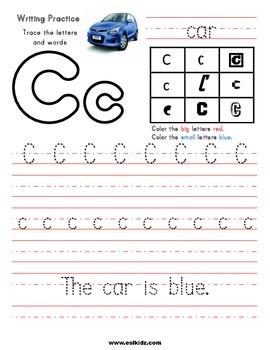 Free Alphabet Tracing Sheets