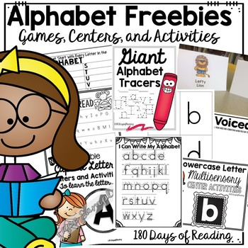 Free Alphabet Worksheets and Activities