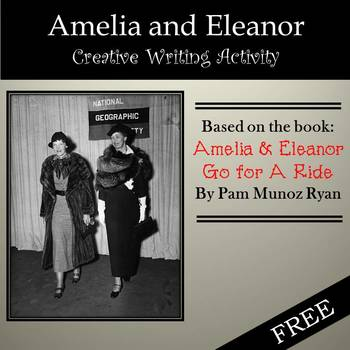 Free: Amelia & Eleanor Creative Writing Activity based on Popular Book
