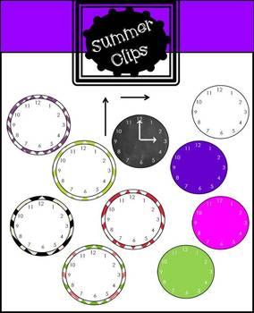 Free Analog Clock Clip art