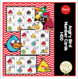 Free Angry Bird Number Cards