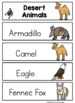 Free Animal Cards for Pocket Charts