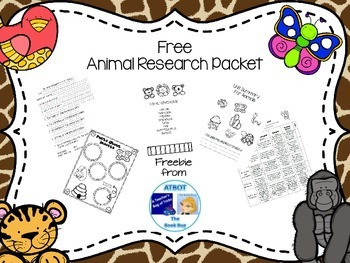 Free Animal Research Packet