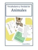 Free Animales Unit Spanish
