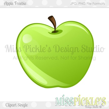 Free Apple Clipart Single- Commercial Use