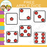 Free Apple Dice Clip Art