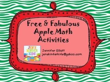 Free Apple Math Activities!