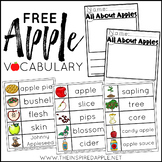 Free Apple Vocabulary