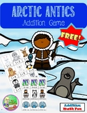 Free Arctic Antics Addition Game