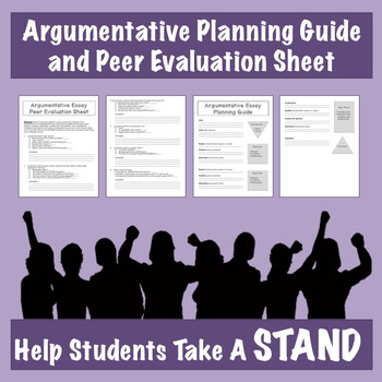 Free Argumentative Planning Guide and Evaluation Sheet
