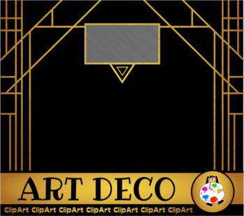 Free Art Deco Clip Art Designs