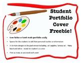 Free Art Folder or Portfolio Cover!