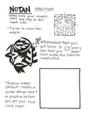 Free Art Handout- Notan Positive and Negative Space Design