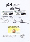 Free Art Lesson on shading and shadow