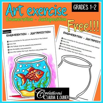 Free: Art exercise: Enumeration Juxtaposition. Language of art.