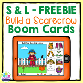 Free Articulation Boom Cards for Fall Speech Therapy
