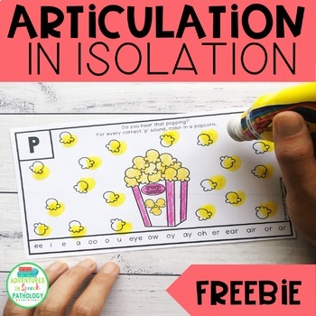 Free Articulation in Isolation