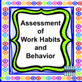Free Assessment of Work Habits and Behavior