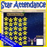 Star Attendance Board Free