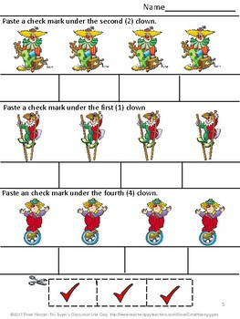 Free August September Math Literacy Back to School Special Ed Kindergarten