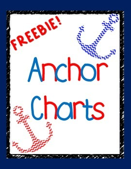 Free! Author's Purpose and Point of View Anchor Chart