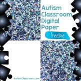 Autism Awareness (Free) Inspired Digital Paper Puzzle Bord