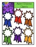 {Free} Award Ribbons Classic Colors {Creative Clips Digita