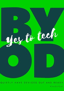 Free BYOD Signs