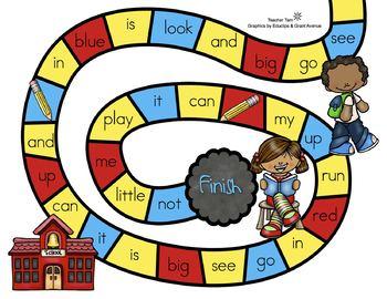 Sight Word Games Kindergarten Literacy Centers Back to School FREE
