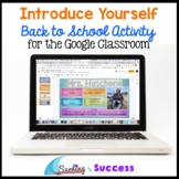 Free Back to School Digital Activity: Introduce Yourself f