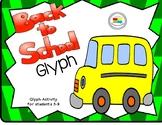 Free Back to School Activity Glyph