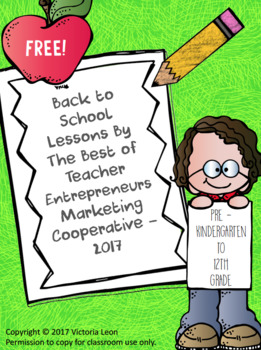 Free Back to School Lessons By The Best of Teacher Entrepreneurs MC - 2017