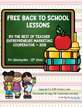 Free Back to School Lessons By The Best of Teacher Entrepreneurs MC - 2018