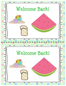 Free Back to School Postcard