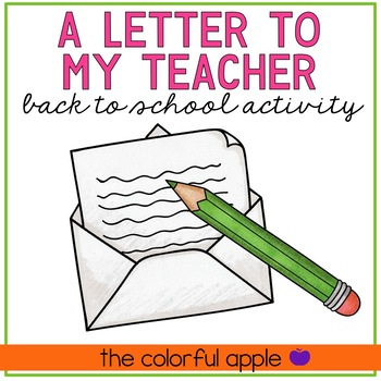 Free Back to School Writing Activity