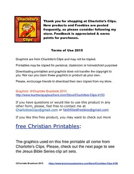 Free Catholic - Christian gift tags for Goldfish Crackers