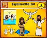 Free Baptism of the Lord Clip Art for Personal Use from Ch