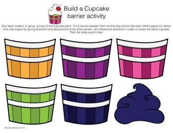 Free Barrier Games for Receptive and Expressive Language Build a Cupcake