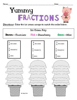 Free! Basic Fraction Fun!