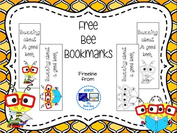 Free Bee Bookmarks