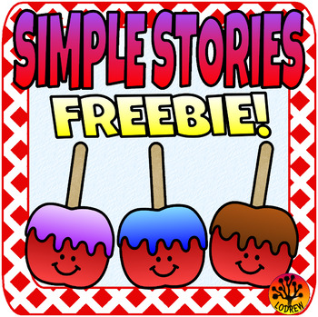 Free Beginner Reader Simple Story Autumn Fall Candy Apples Literacy Carnival