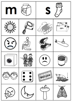 Free Beginning Consonant Picture Sorting Centers Sample Literacy Center