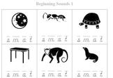 Free Beginning Sound Worksheet - Preview