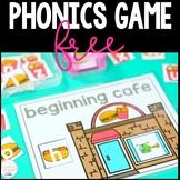 Free Beginning Sounds - Phonics Game